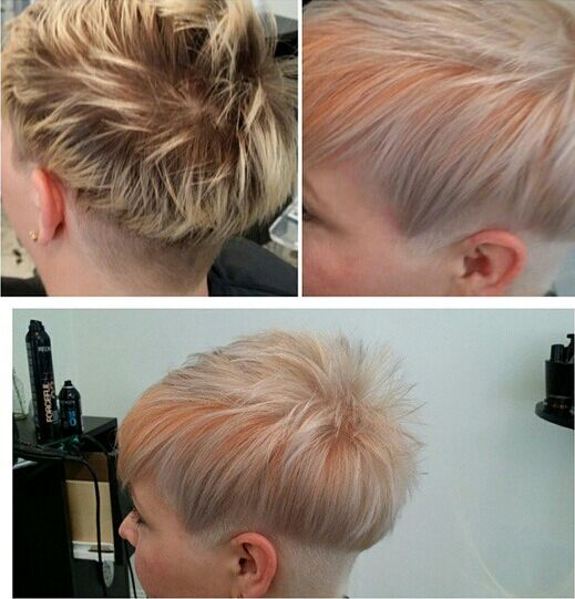 pretty-hair-color-with-pixie-cut
