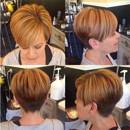 short-haircut-with-side-swept-bangs