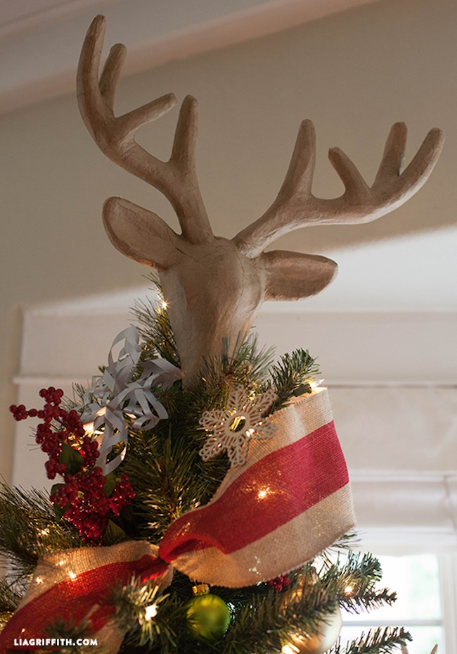 30 Creative Christmas Tree Toppers Ideas