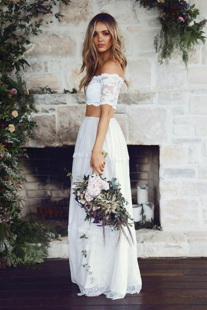 50 Chic Boho-Chic Wedding Dresses Ideas » EcstasyCoffee