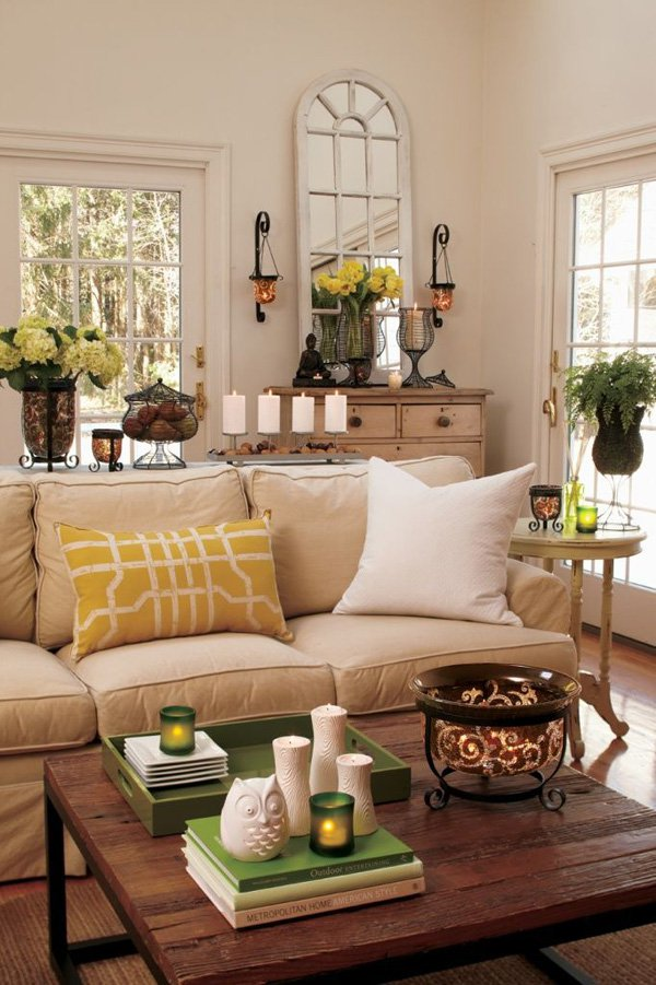 35 Inspiring Living Room Decorating Ideas For New Year