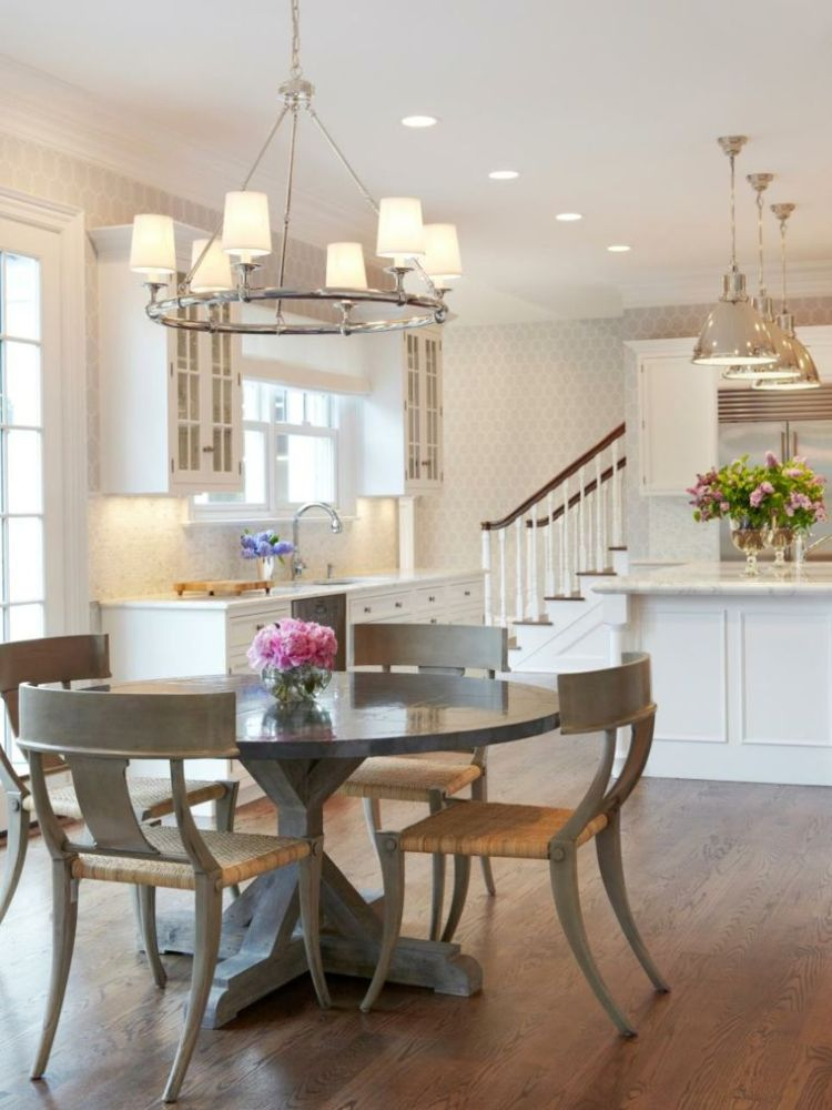 54 Gorgeous Oval Dining Tables For Your Modern Kitchen 187 Ecstasycoffee