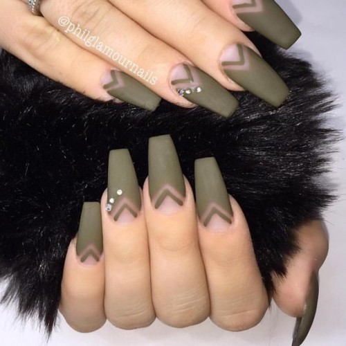 45 Best Coffin Nail Design Ideas » EcstasyCoffee