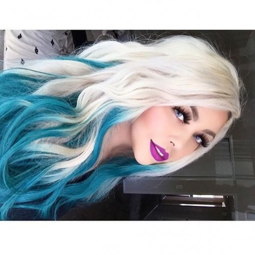 Beautiful Blonde Hair Ideas 1: 50+ Awesome Blue Ombre Hair Color Ideas You'll Love To Try
