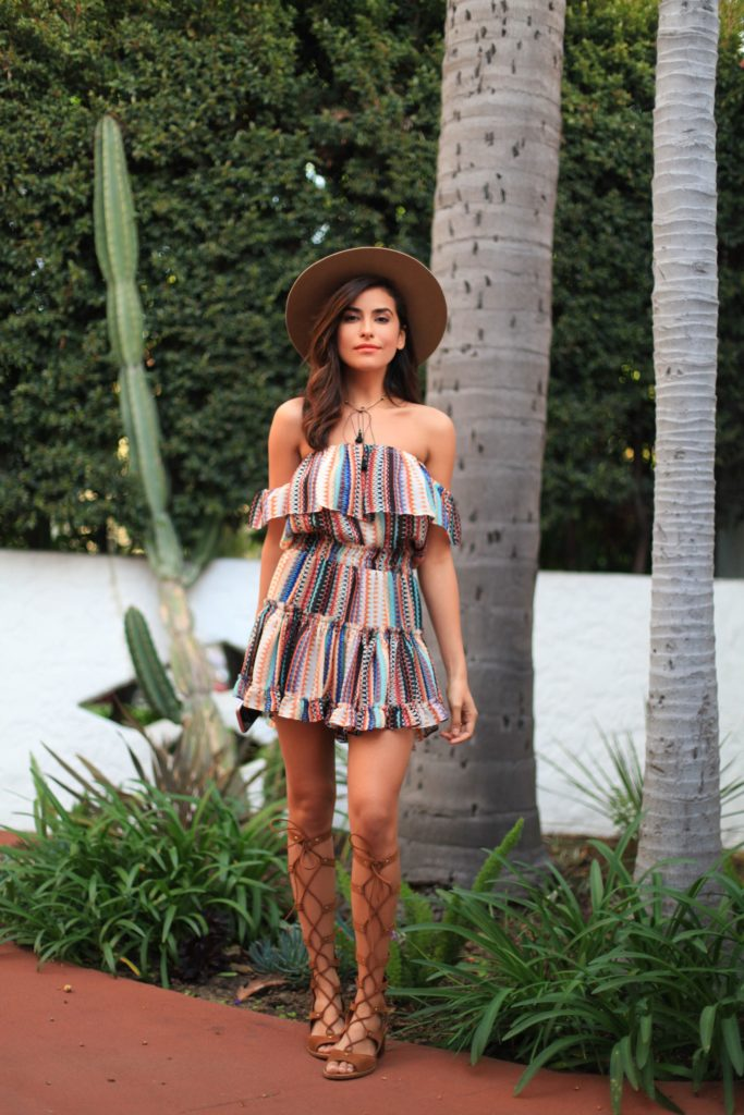 35 Stunning Boho Rompers And Jumpsuit Outfit Ideas For Summer - EcstasyCoffee