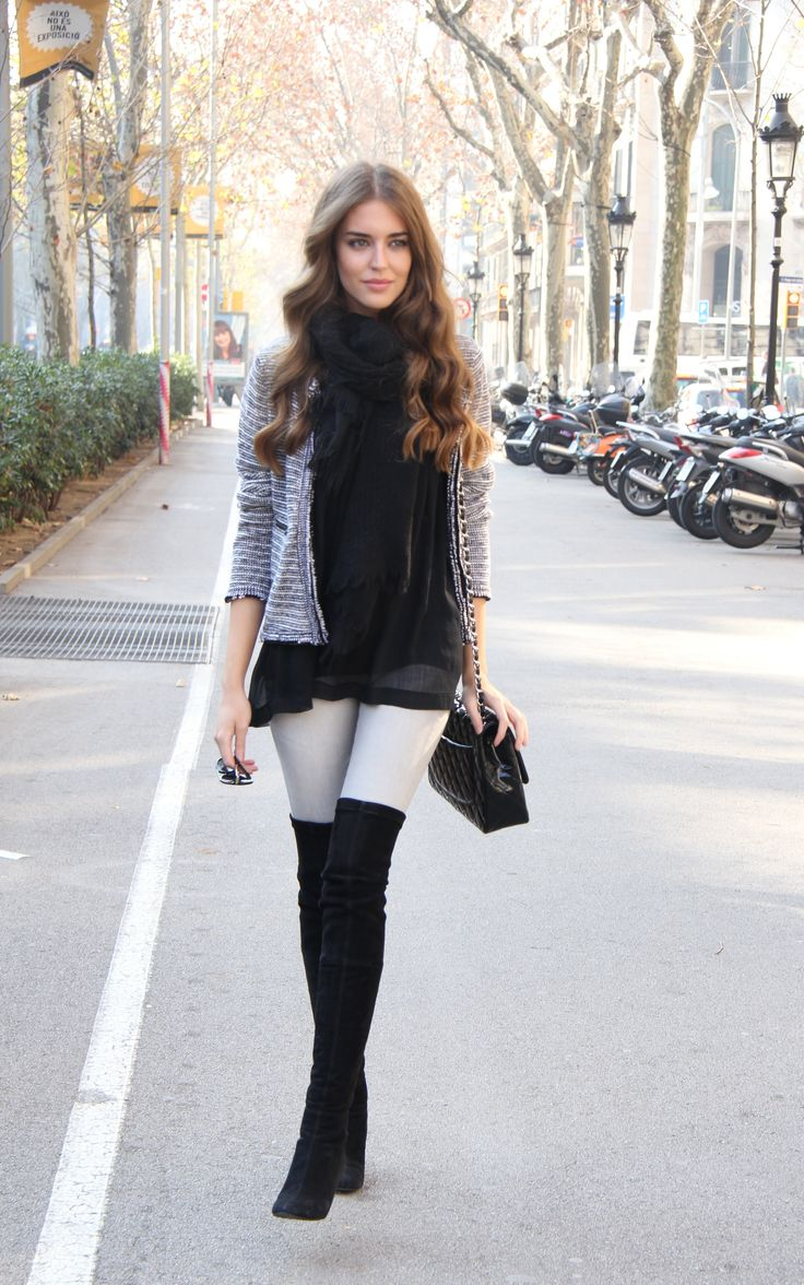 44 stylish ways to wear knee high boots » ecstasycoffee