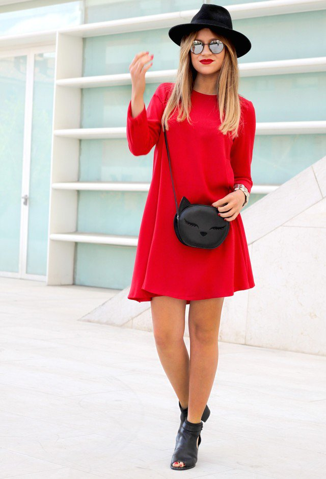 50 Gorgeous Red Dress Outfit For Valentines Day