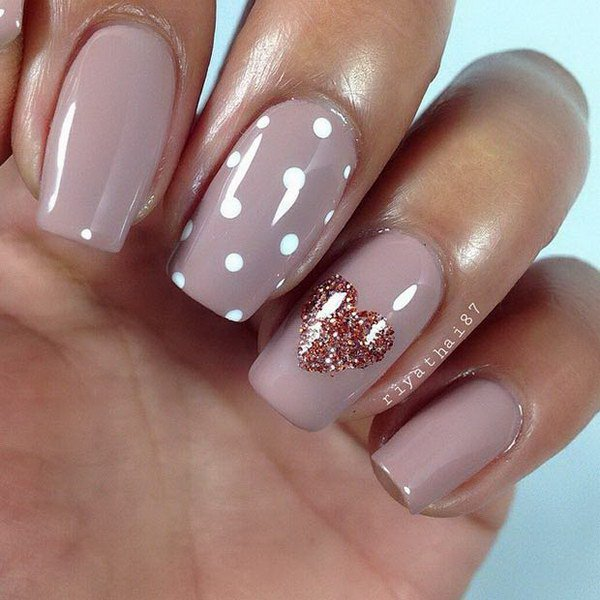 Here I Have Collected Romantic And Lovely Heart Nail Art Designs Ideas For  This Valentines Day.. We Were Hooked Us And We Will Bring More Things As ...