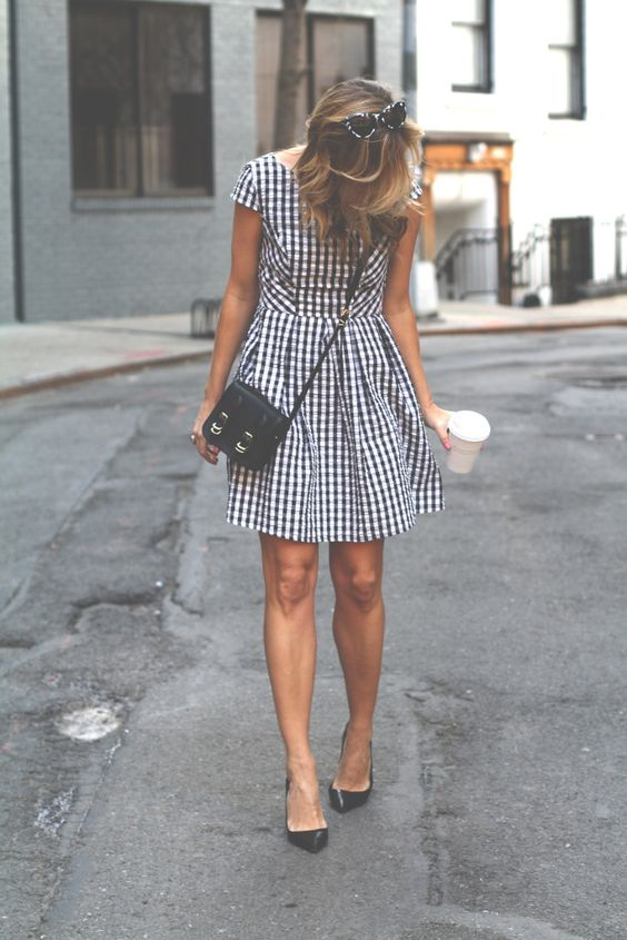 30 Perfect Gingham Outfit Ideas For Summer 187 Ecstasycoffee