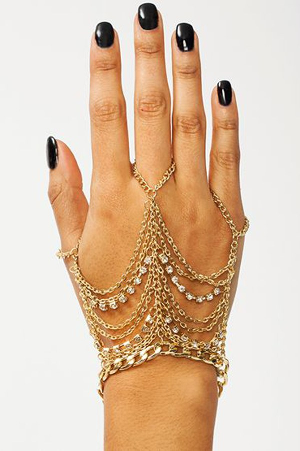 56 Gorgeous Hand Chain Jewelry Ideas For Classy Ladies ...
