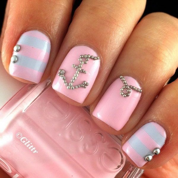 37 cute valentine day pink nail art design ideas ecstasycoffee here i have collected pink nail art design hot valentines day nail designs valentine pink nails heart nail art designs heart nail designs for short prinsesfo Images