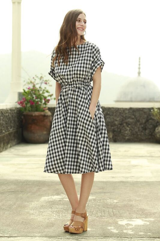Gingham Shirts Women