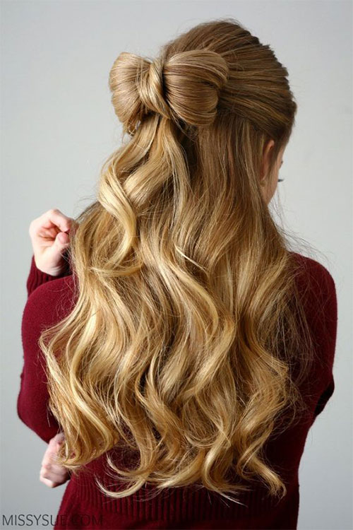 40 Cute And Romantic Hairstyles For Valentines Day