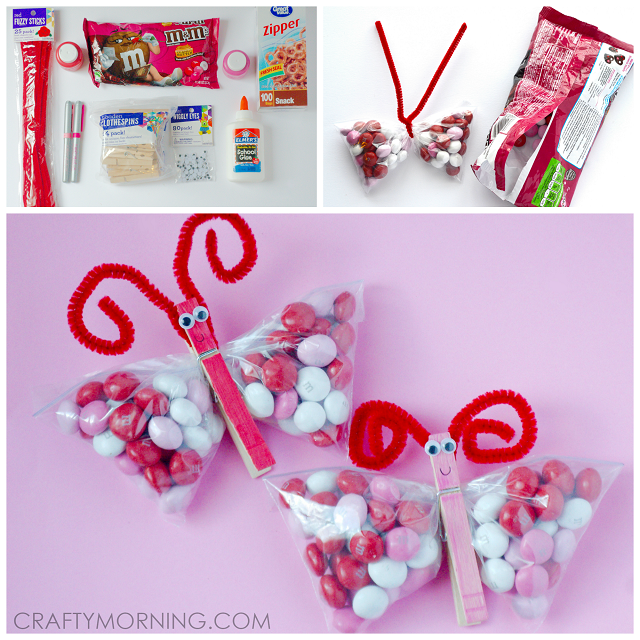 Valentine Card Crafts For Preschoolers