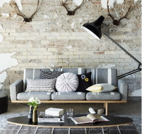 30 Cool Brick Walls Ideas For Living Room Ecstasycoffee