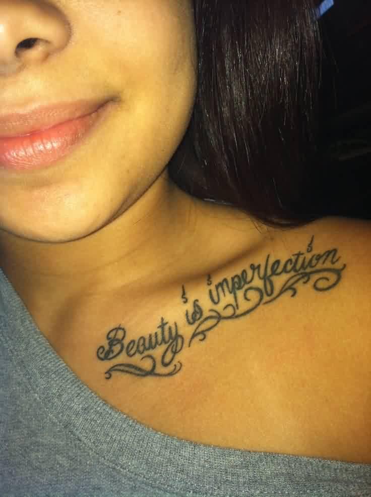 Collar Bone Tattos: 40+ Most Stylish Collar Bone Tattoos For Women