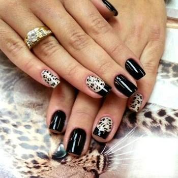 40 cool black french nail art designs that drop your jaw off black french nail art designs black french nail art designs prinsesfo Images