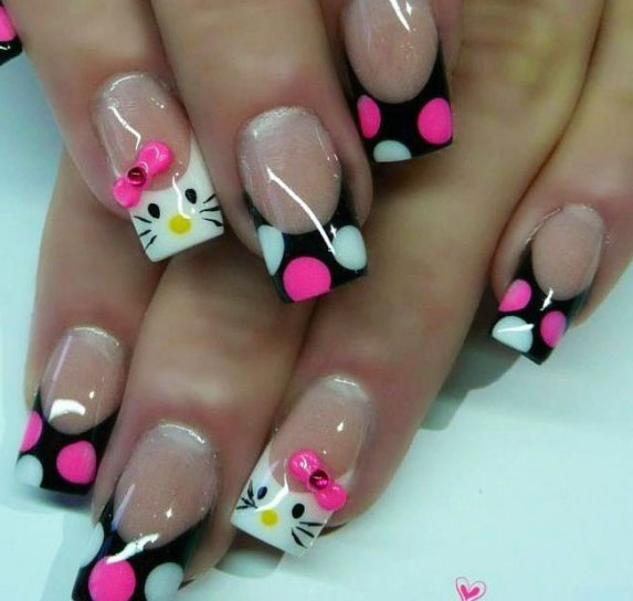 Cool Black French Nail Art Designs That Drop Your Jaw Off ...