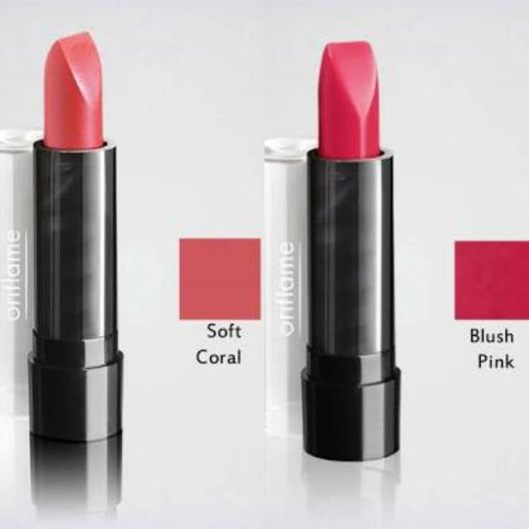 Both are glossy, soft shades and need concealer base on lips to stay longer. #purecolorlipstick