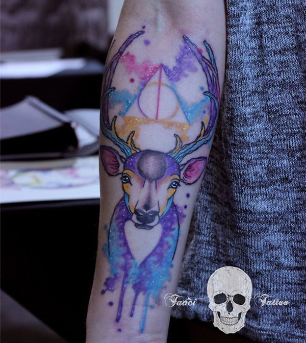 40 Must See Tattoos For Halloween: 40 Breathtaking Pastel Tattoo Design Ideas You Must See