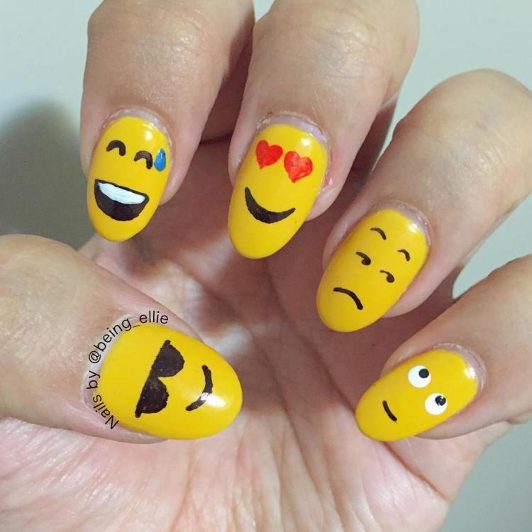 Yellow Nail Art Designs - To Bend Light