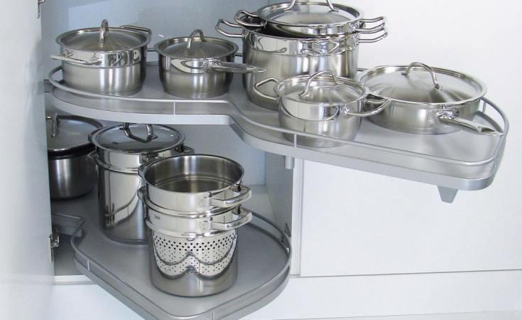 #kitchencorner #kitchendesign #kitchenstorage #kitchenstorageideas