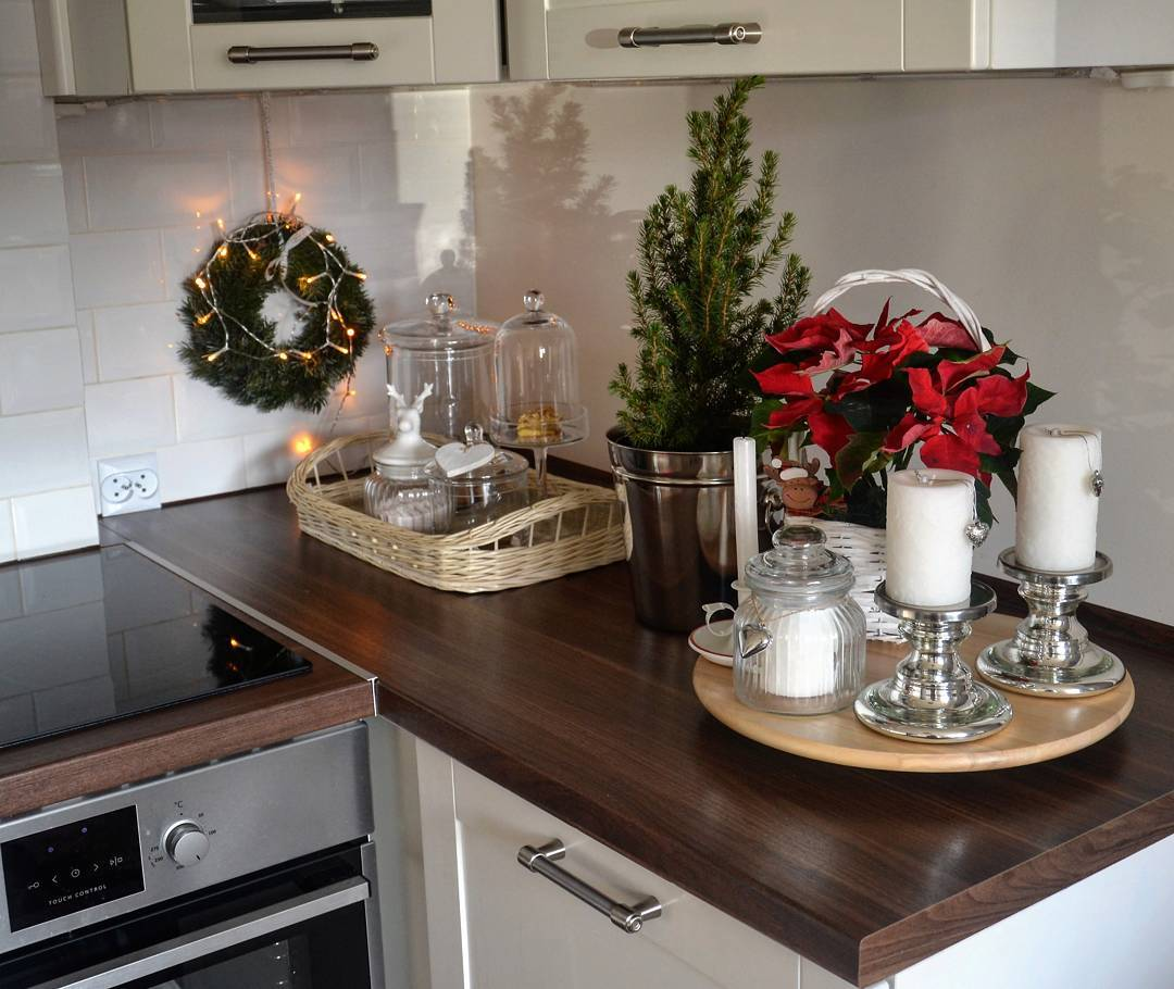 christmas kitchen 60 modern christmas kitchen decorating ideas - Christmas Kitchen Decor