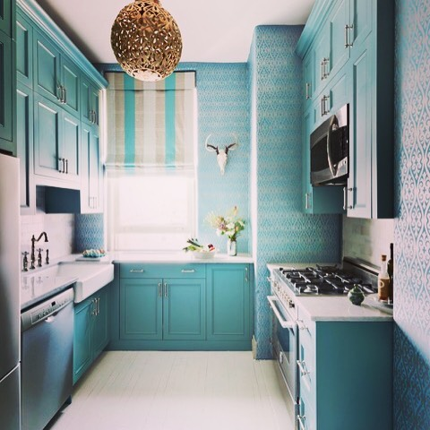 53 Beautiful And Dreamy Paint Color Ideas For Kitchen Space