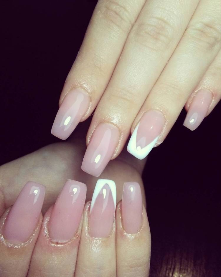 53 Adorable White Nail Art Ideas To Try