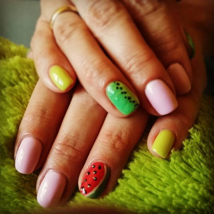 47 Best Fruit Nail Art Ideas To Refresh Your Summer