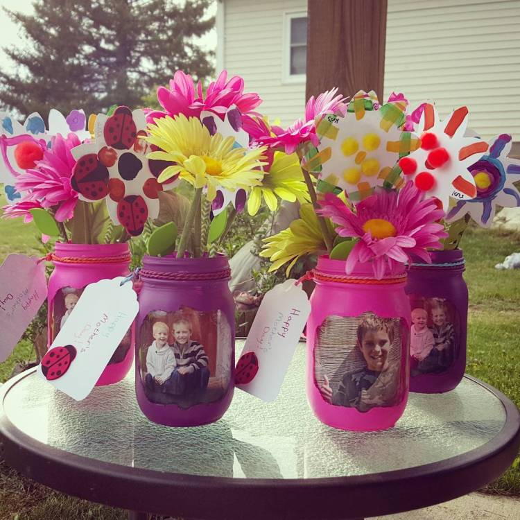 Easy Mothers Day Crafts For Kids To Make