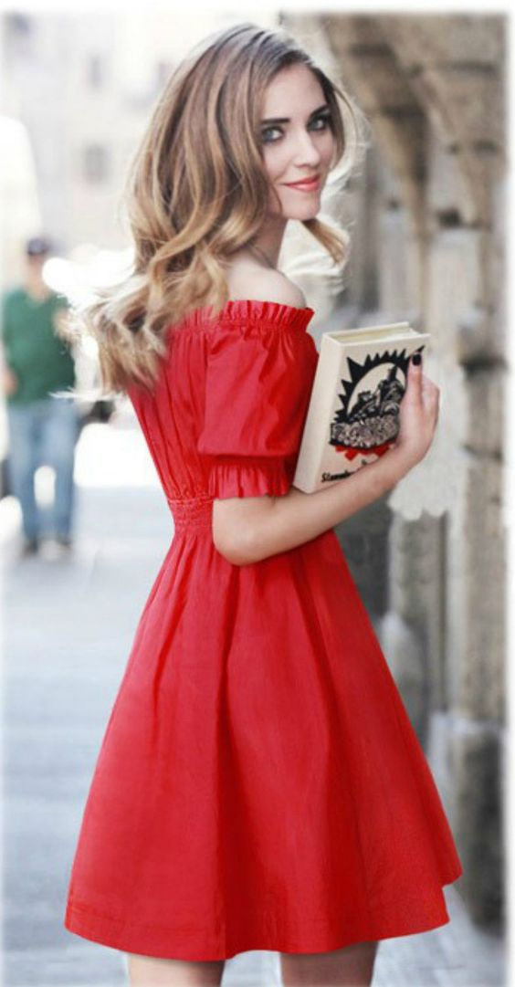 45 Cute Off Shoulder Dresses to Flaunt the Classic Women