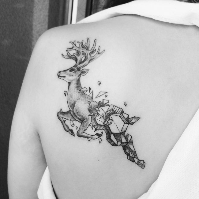 50 Beautiful Deer Tattoo Ideas To Ink Yourself In