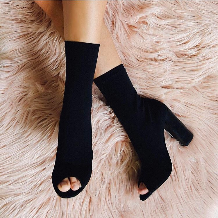 Wedding Shoes Zippay: 45 Gorgeous Sock Boots For The Perfectly Elegant Look