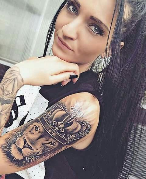 Tattoo Quotes Vrouw: 50 Powerful Lion Tattoo Ideas To Enhance Your Personality