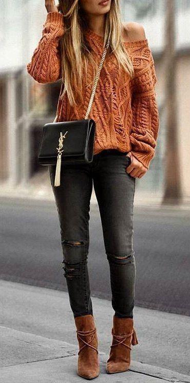 Gray Denim Jeans Womens
