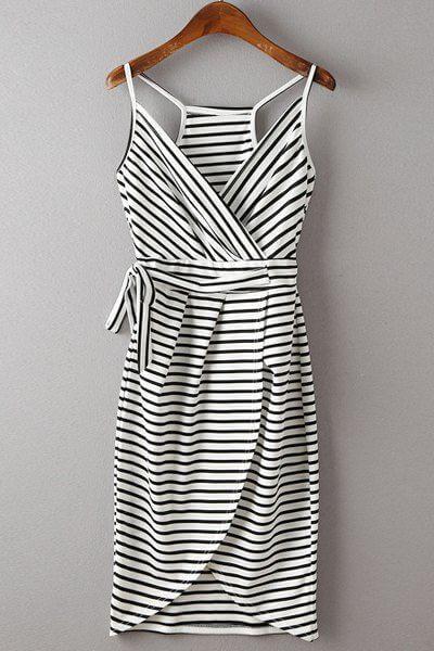 A refreshing striped summer dress