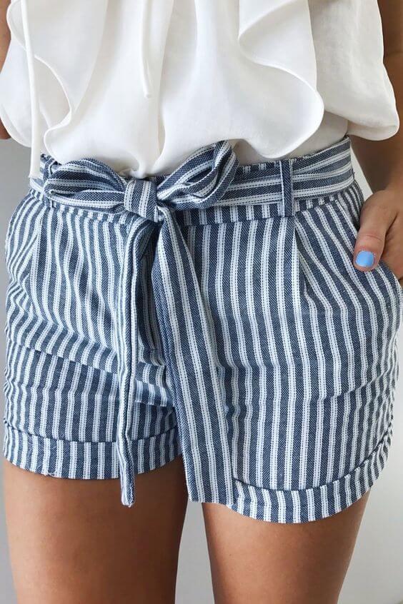 Freshly simple and elegant shorts