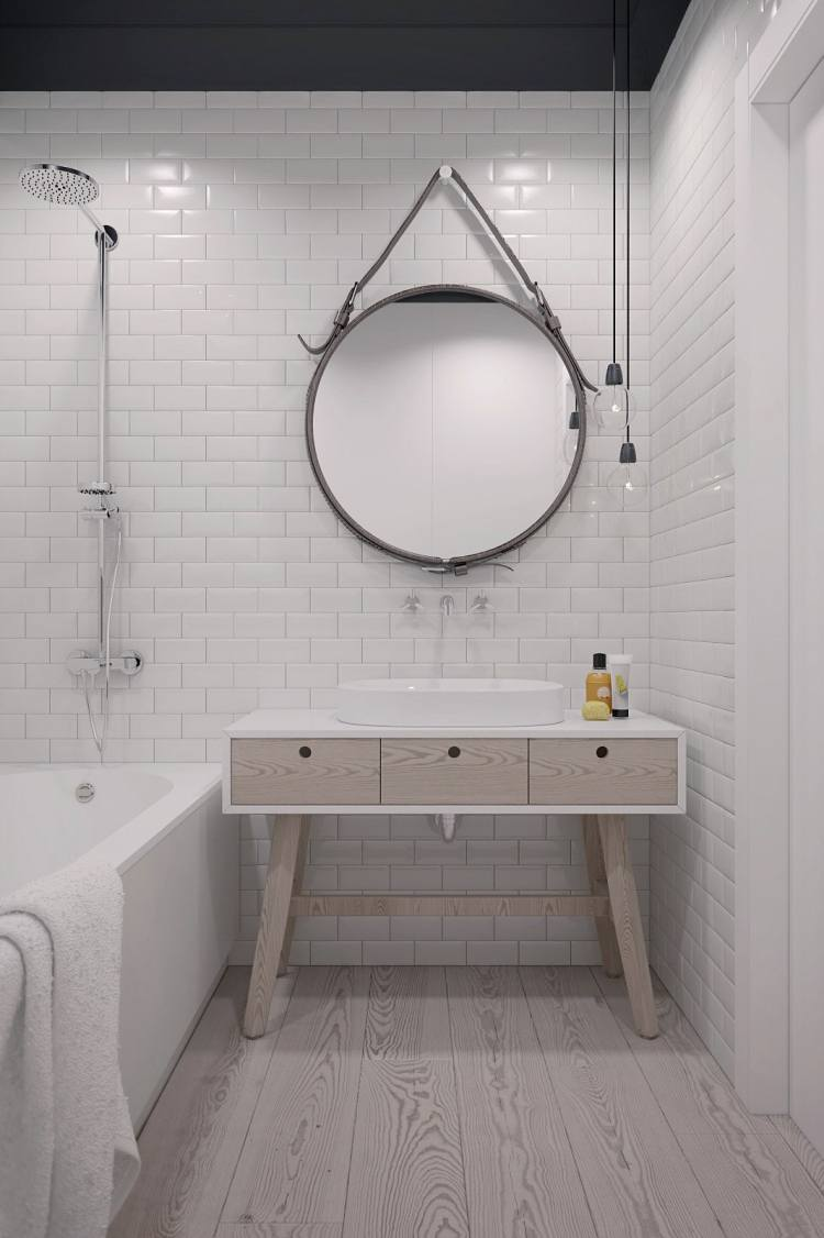 40 Stunning Scandinavian Bathroom Design Ideas » EcstasyCoffee