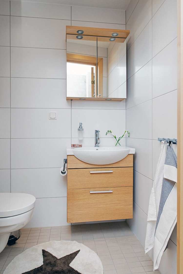 40 Stunning Scandinavian Bathroom Design Ideas » EcstasyCoffee
