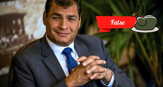 Facebook Rafael Correa
