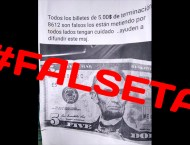 Billetes falsos circulando por las redes
