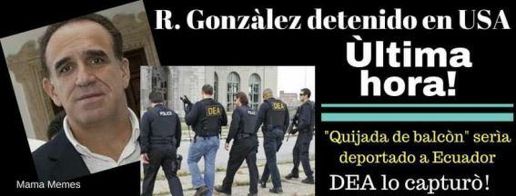 Detenido Ramiro González #FALSETA