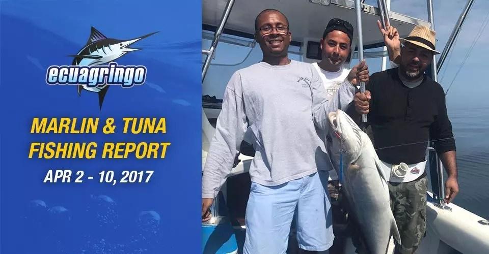 Marlin & Tuna Fishing Report, April 2-10 2017