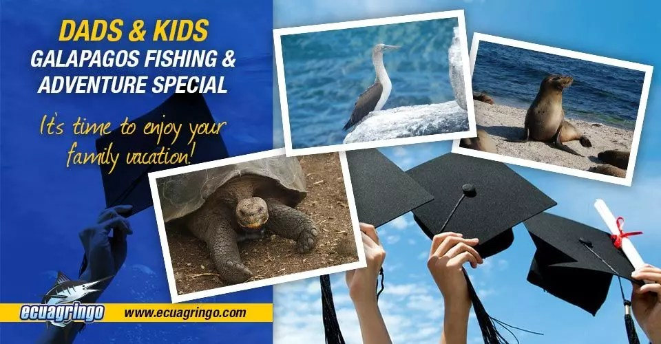 Dads & Kids Galapagos Fishing & Adventure Special