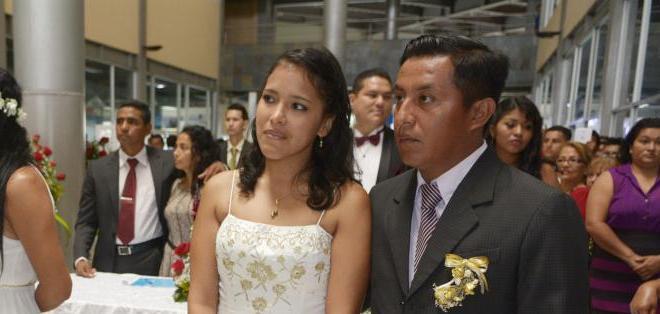 Resultado de imagen de matrimonio ecuador