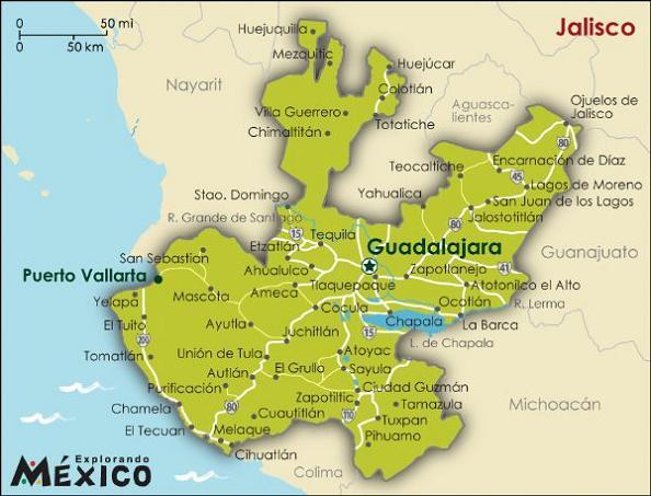 Estado de Jalisco (México) - EcuRed