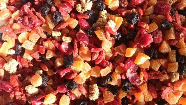fruits sécher