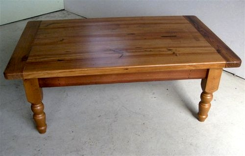 Coffee Table Zinc Top