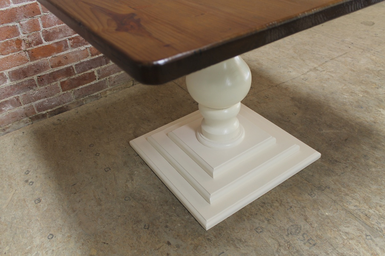 Small Square Pedestal Table Ecustomfinishes